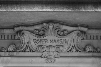 Detail, 337 Riverside Drive. By Laurence Beckhardt